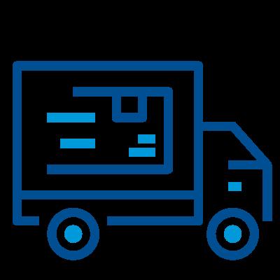 Servicios de preparación, empacado y distribución del producto por Blue Logistics El Salvador