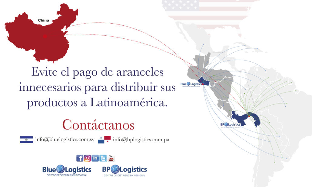 Hub Logístico - BP Logistics - Distribución - China